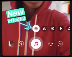 nuovi effetti video su instagram
